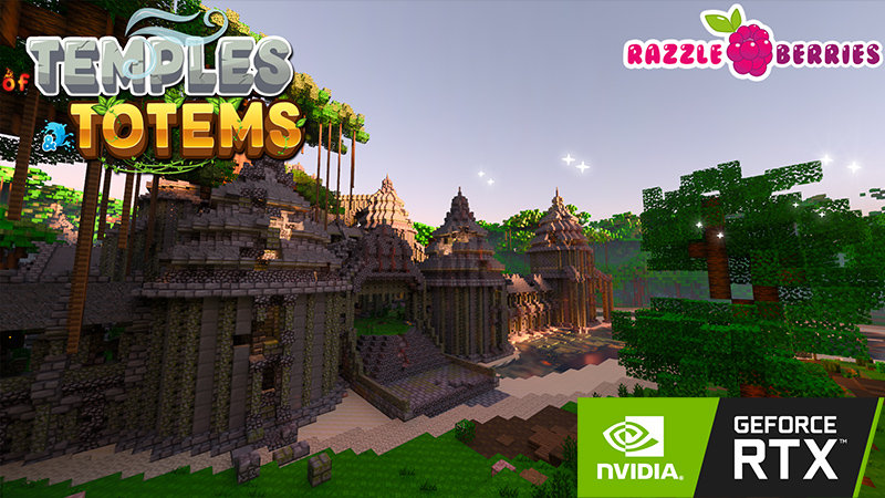Of  Temples and Totems RTX on the Minecraft Marketplace by Nvidia