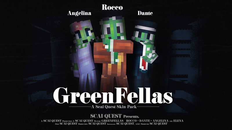 GreenFellas on the Minecraft Marketplace by Scai Quest