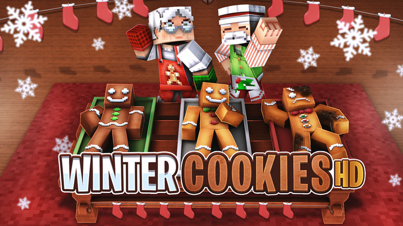 Winter Cookies HD on the Minecraft Marketplace by BBB Studios