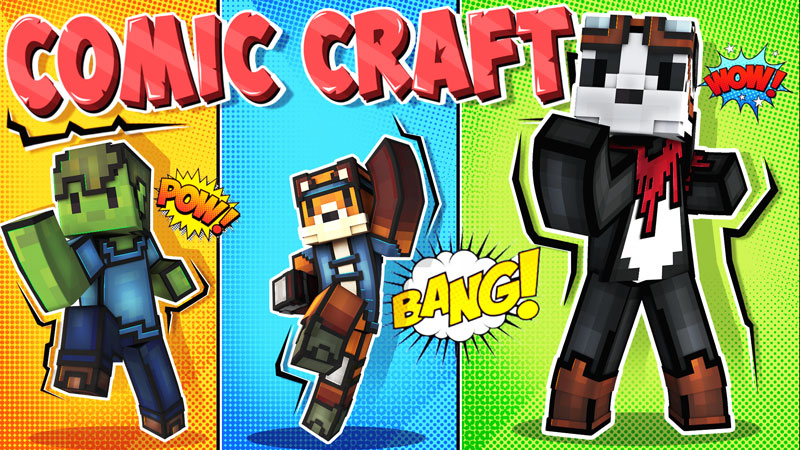 Comic Craft on the Minecraft Marketplace by BBB Studios