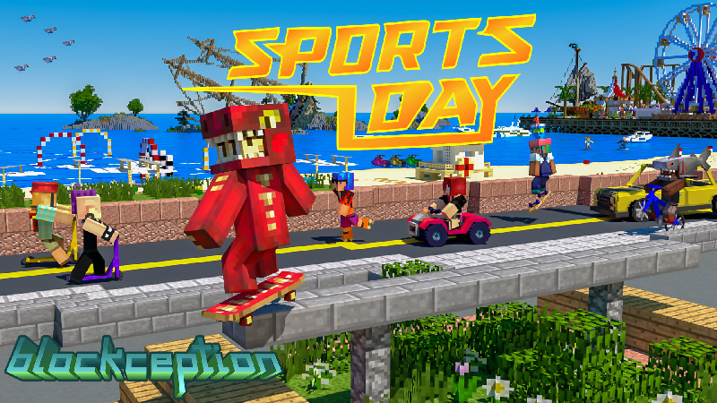 Sports Day Summer City on the Minecraft Marketplace by Blockception