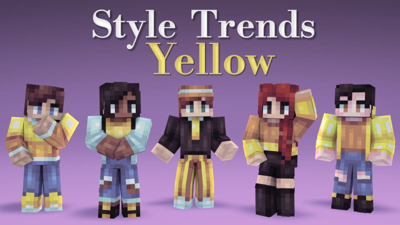 Style Trends Yellow on the Minecraft Marketplace by Pixels & Blocks