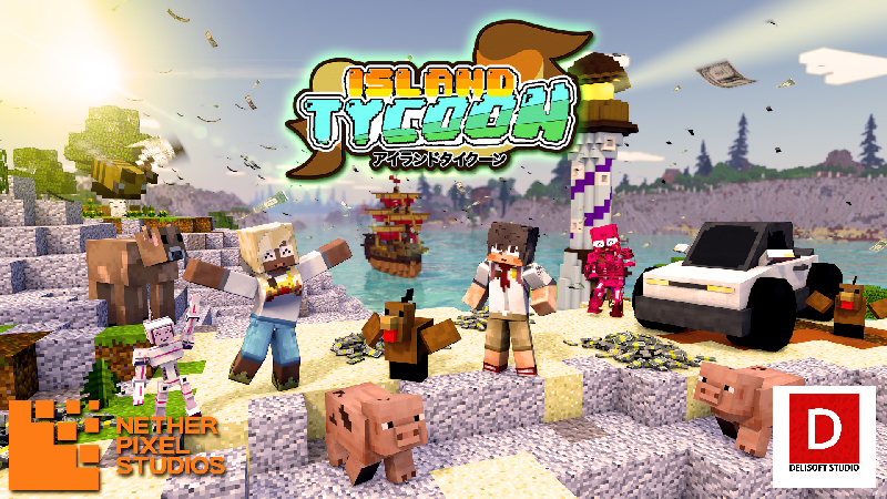 Island Tycoon on the Minecraft Marketplace by Netherpixel