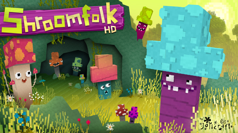 Jolicrafts Shroomfolk HD on the Minecraft Marketplace by Jolicraft