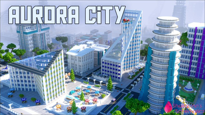 Aurora City on the Minecraft Marketplace by Shaliquinn's Schematics