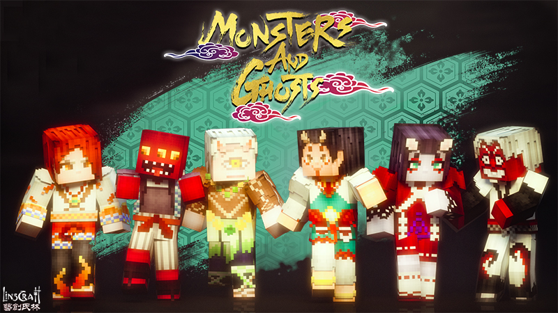 Monsters and Ghosts on the Minecraft Marketplace by LinsCraft