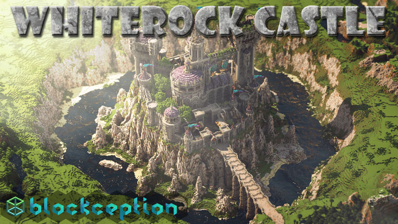 Whiterock Castle on the Minecraft Marketplace by Blockception