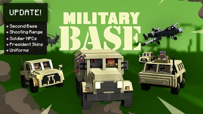 Military Base on the Minecraft Marketplace by Team Vaeron