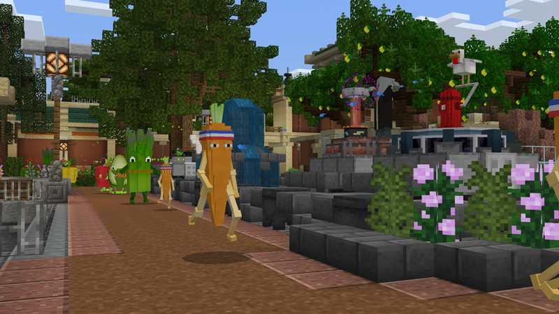 Fruit Zoo Tower Defense By Panascais Minecraft Marketplace