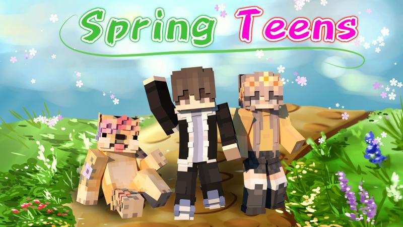 Spring Teens on the Minecraft Marketplace by Podcrash