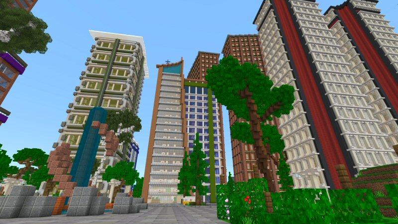 City Center by Shaliquinn's Schematics