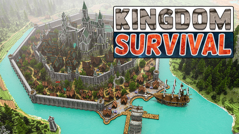Kingdom Survival on the Minecraft Marketplace by Blockception