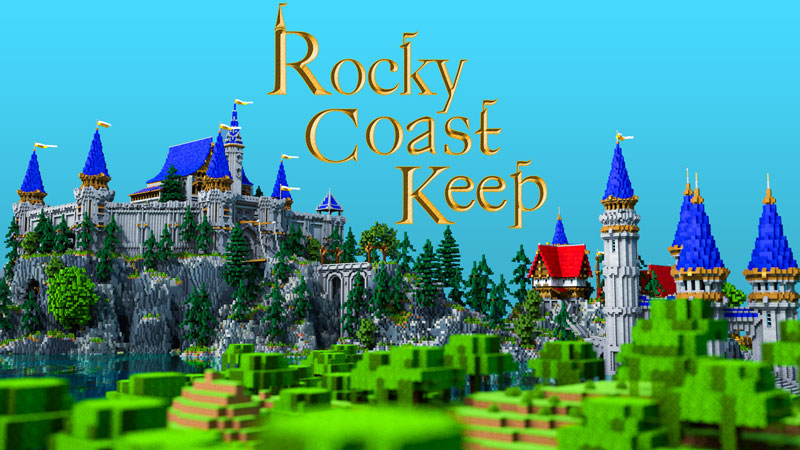 Rocky Coast Keep on the Minecraft Marketplace by Blockception