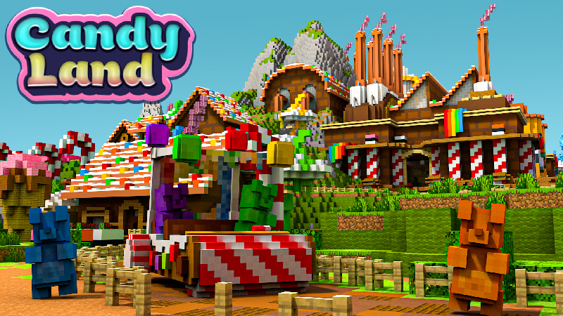 Candy Land on the Minecraft Marketplace by Blockception