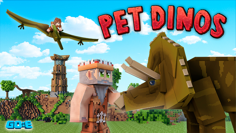 Pet Dinos on the Minecraft Marketplace by GoE-Craft