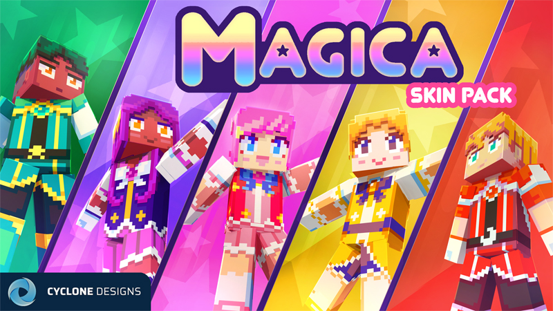 Magica Skin Pack on the Minecraft Marketplace by Cyclone