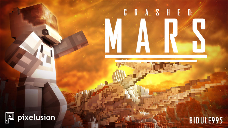 Crashed Mars on the Minecraft Marketplace by Pixelusion