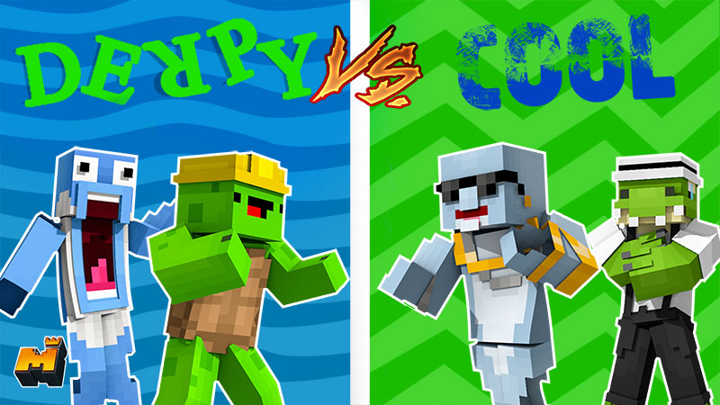 Derpy vs Cool Animals on the Minecraft Marketplace by Mineplex