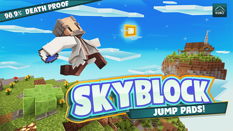 Skyblock Jump Pads on the Minecraft Marketplace by Kubo Studios