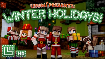 Winter Holidays HD on the Minecraft Marketplace by Pixel Squared