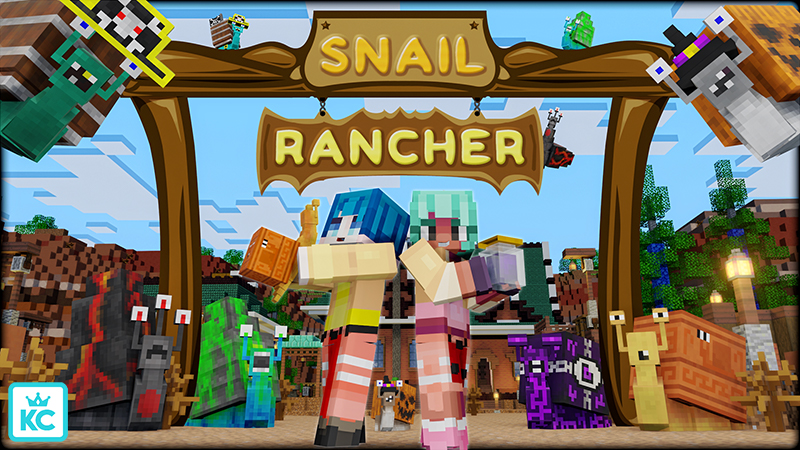 Snail Rancher on the Minecraft Marketplace by King Cube