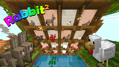 Rabbit Squared on the Minecraft Marketplace by Scai Quest