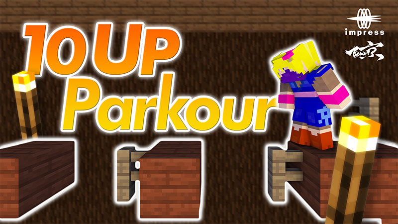 10 UP Parkour on the Minecraft Marketplace by Impress