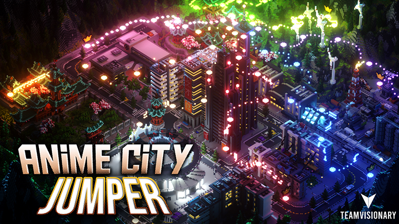 Anime City Jumper on the Minecraft Marketplace by Team Visionary