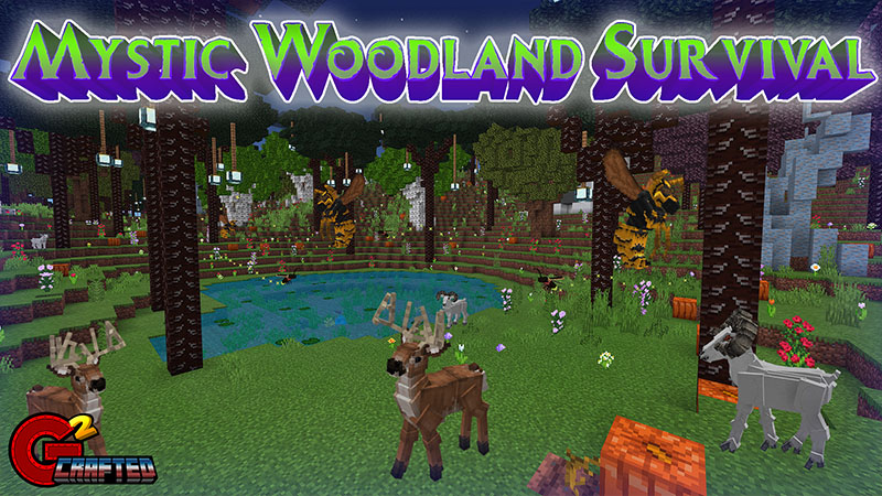 Mystic Woodland Survival on the Minecraft Marketplace by G2Crafted
