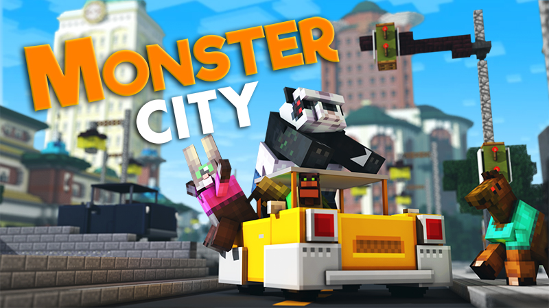 Monster City on the Minecraft Marketplace by InPvP