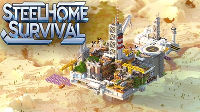 Steelhome Survival on the Minecraft Marketplace by Entity Builds
