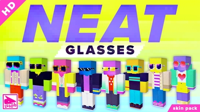NEAT Glasses on the Minecraft Marketplace by Lebleb