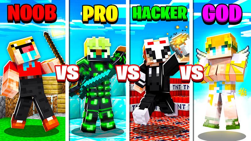 Noob Vs Pro Vs Hacker Vs God In Minecraft Marketplace Minecraft