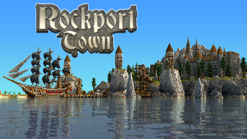 Rockport Town on the Minecraft Marketplace by Impulse