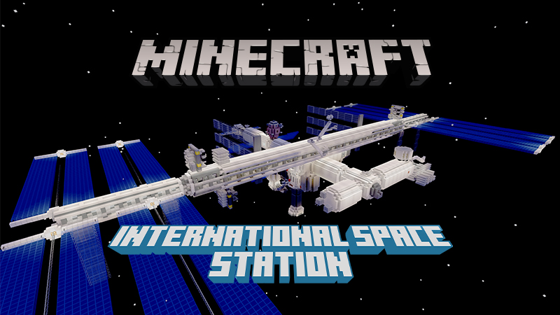 International Space Station on the Minecraft Marketplace by Minecraft