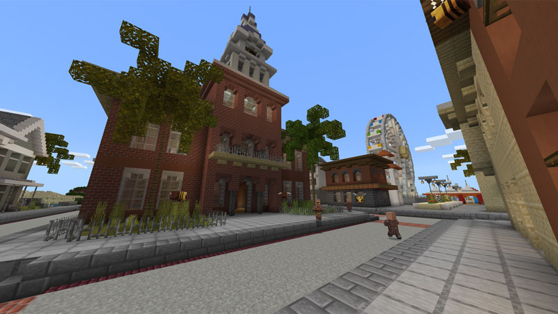 Spring City on the Minecraft Marketplace by Chunklabs