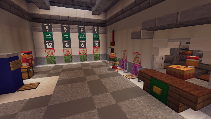 Festive Pizza Delivery Sim - Screenshot