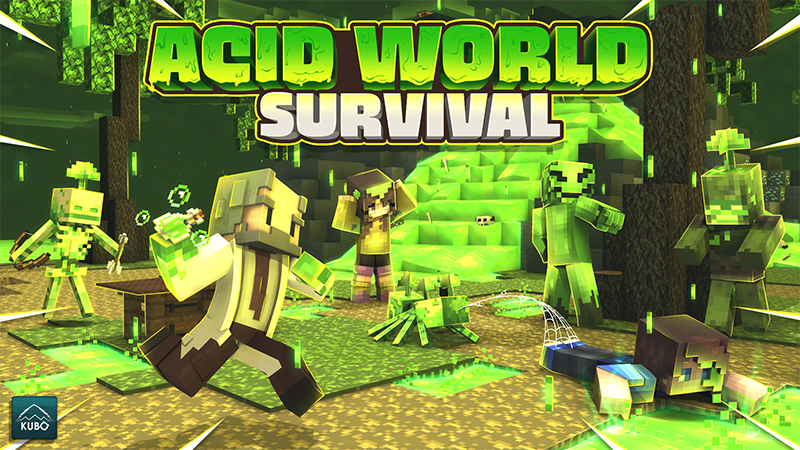 Acid World Survival on the Minecraft Marketplace by Kubo Studios