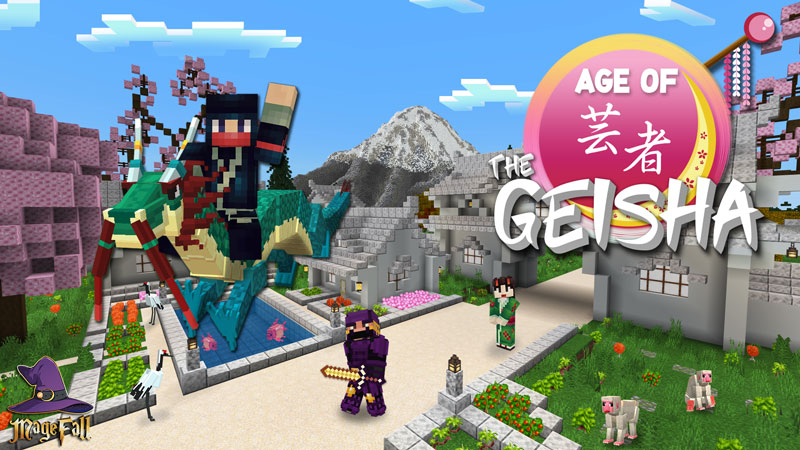 Age of the Geisha on the Minecraft Marketplace by Magefall