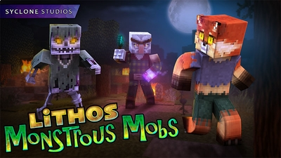 Lithos Monstrous Mobs on the Minecraft Marketplace by Syclone Studios