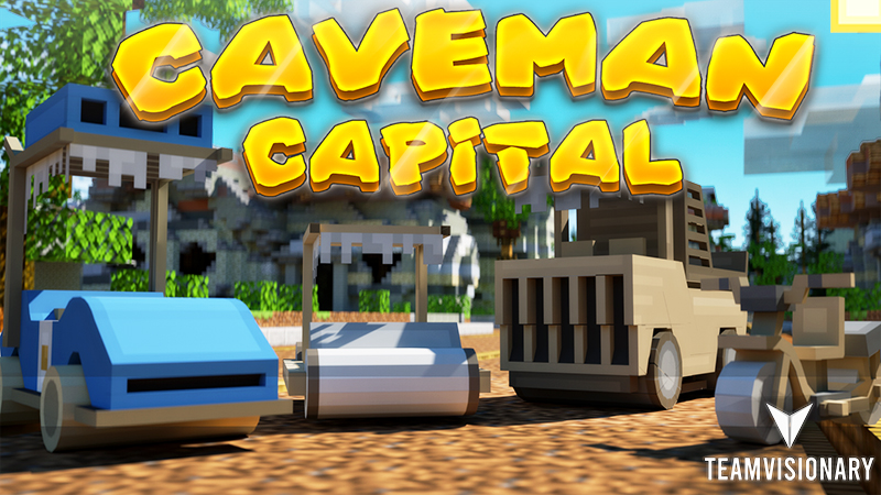 Caveman Capital on the Minecraft Marketplace by Team Visionary