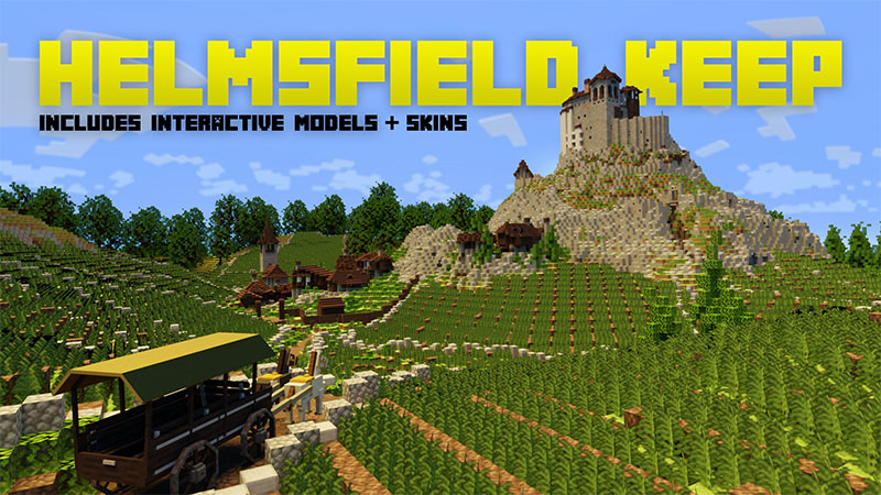 Helmsfield Keep on the Minecraft Marketplace by Aurrora