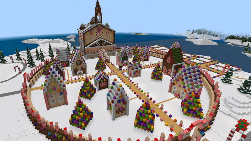 Winter Town on the Minecraft Marketplace by Magefall