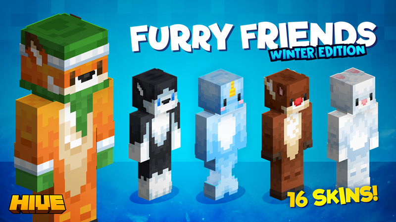 Furry Friends Winter Edition on the Minecraft Marketplace by The Hive
