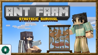 Ant Farm Strategic Survival on the Minecraft Marketplace by Octovon