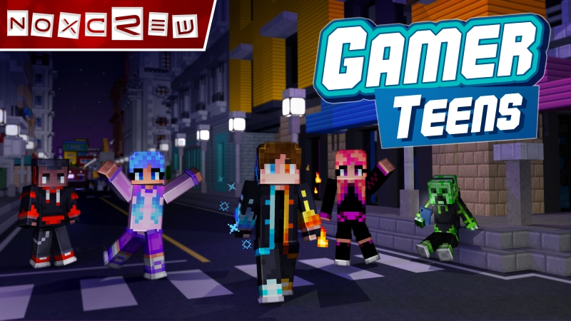 GamerTeens on the Minecraft Marketplace by Noxcrew