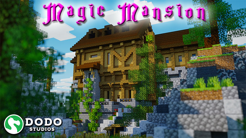 Magic Mansion on the Minecraft Marketplace by Dodo Studios