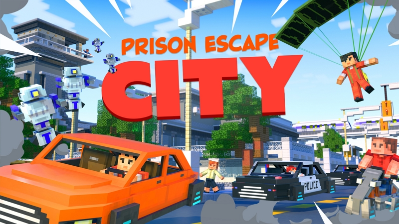 Prison Escape City on the Minecraft Marketplace by InPvP