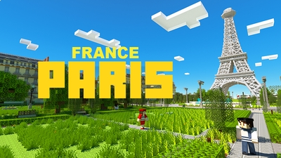 France Paris on the Minecraft Marketplace by Mine-North