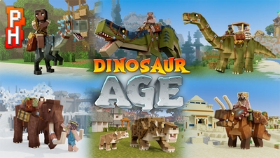 Dinosaur Age on the Minecraft Marketplace by PixelHeads